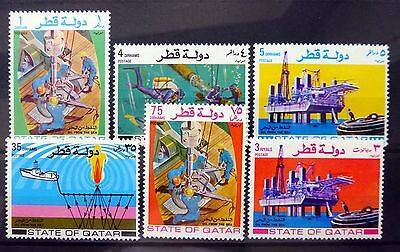 QATAR 1972 Oil (6) SG424/9 U/M NB2496