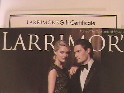 $100 LARRIMOR'S CLOTHING STORE - PITTSBURGH PA - #1 Top Fashion for Men & Women