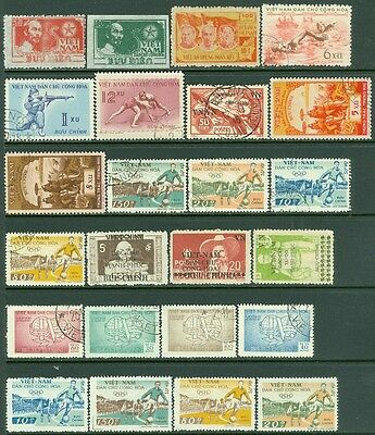 EDW1949SELL : VIETNAM Interesting lot of Mint & Used with some Better.