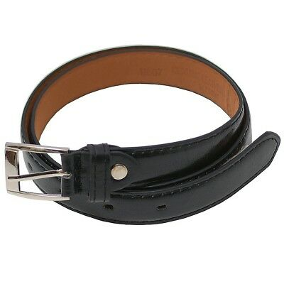 "Girls Genuine Leather Single Prong Roller Buckle Belt S-XL (20.5-35"")"