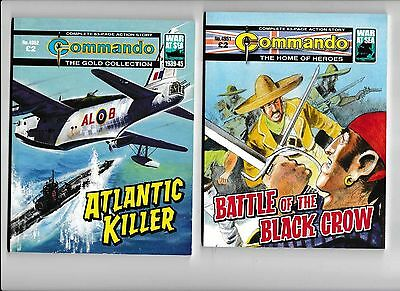 20 commando comics NO.s 4951 to 4970 ALL IN VERY GOOD CONDITION