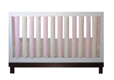 Go Mama Go Designs 24 Pack Wonder Bumpers, Pink/Cream New