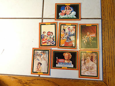 Series 4 The Coca-Cola Collection Trading Cards,7 Cards Here,1995 Dated
