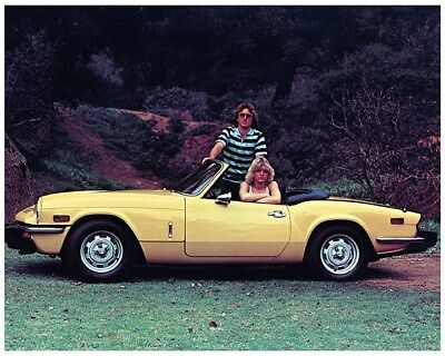 1978 Triumph Spitfire Factory Photo ca7916