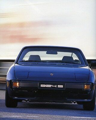 1987 Porsche 924S Factory Photo ca7942