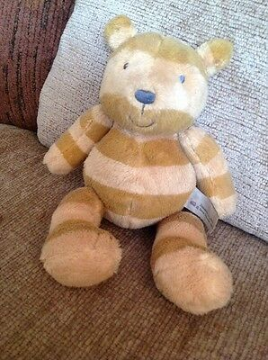 Isabells Toy Shop cute plush stripey teddy bear