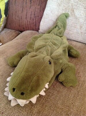 M&S plush crocodile puppet - 7359 743