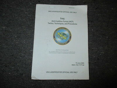Us Oif Booklet On The Aif Forces Iraq Dated 2004