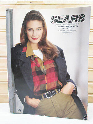 Vintage Sears Fall Winter Catalog 1992 1993 Fashion Clothing Home 90s 1990s