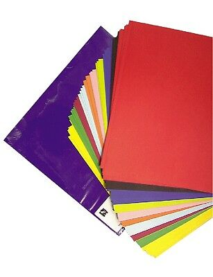 ORIGAMI Glossy Paper Squares 100 sheets - 10 Colours. 127mm  - CLEARANCE ITEM