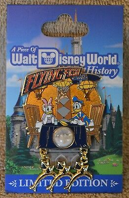Pin 121953 WDW - Piece of Disney History 2017 - Flying Fish Cafe