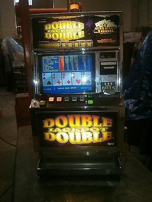 Sigma Slot Machine Double Jackpot Video Poker. .25 Cents Very Nice