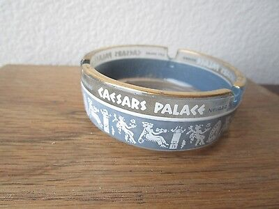 Vintage Caesars Palace Las Vegas Casino Glass Ashtray