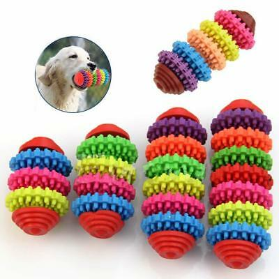 Colorful Rubber Pet Dog Puppy Dental Teething Healthy Teeth Gums Chew Toy Tool S