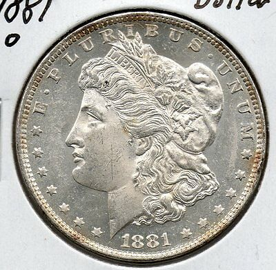 UNC 1881 O  Morgan Dollar. great collector grade coin. Free shipping USA