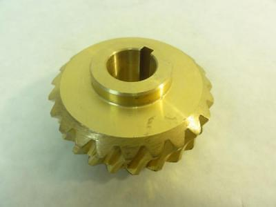 162453 Old-Stock, Duff Norton SK20033 Worm Gear, 24T, 19mm ID