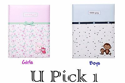 Carters Baby Memory Book Girls Boys Keepsake Record First Album Shower Gift