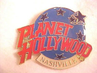 EXCELLENT Planet Hollywood Nashville Tennessee Collectors Pin Advertising H603