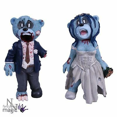 Nemesis Now Zombie Bride Groom Bad Taste Bears Figurine Gothic Gift Collectable