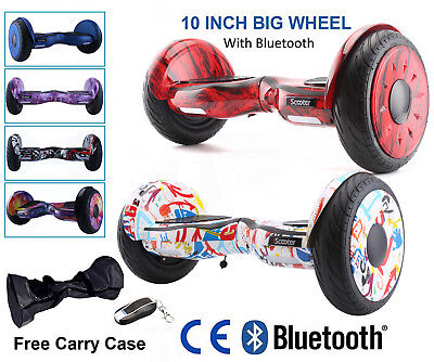 "10"" Eléctrico Scooter Balance Overboard self balancing  Monociclo + Bluetooth"