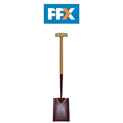 Faithfull FAISS000T Solid Socket Square Mouth T Handle Shovel