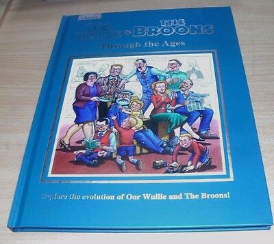 Oor Wullie & The Broons 2018 Through the Ages Hardback by DC Thomson