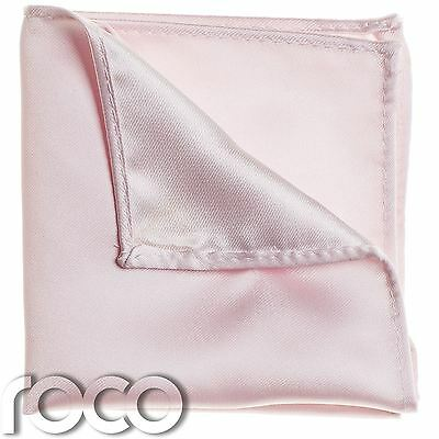 Boys Baby Pink Pocket Square, Boys Handkerchief, Pocket Handkerchief