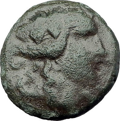 MARONEIA in Thrace 148BC Authentic Ancient Greek Coin - DIONYSUS WINE GOD i62940
