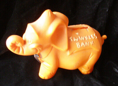 Twinkles Cereal elephant figural bank 60s advertising character