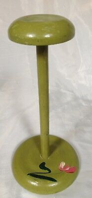 vintage Hat Stand Hand-Painted