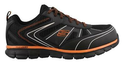 Skechers Synergy Fosston Slip Resistant  Shoes Wide Width Mens Work And Uniform