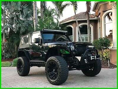 2012 Jeep Wrangler Sahara 2012 Jeep Wrangler Sahara LIFTED! CUSTOM! ONE OF A KIND! WINCH!