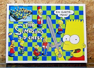 The Simpsons 3-D Chess (Complete & Boxed)