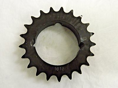 "Browning Bushing Bore Roller Chain Sprocket 1/2"" Pitch 21T H40TB21 3790367"