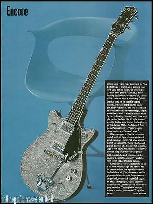 The Gretsch 1962 Silver Duo-Jet Guitar 8 x 11 pinup photo / article