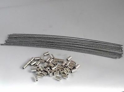 100 x AL METER SECURITY SEAL SEALS WIRES & FERRULES - IDEAL FOR ELECTRIC TAXI