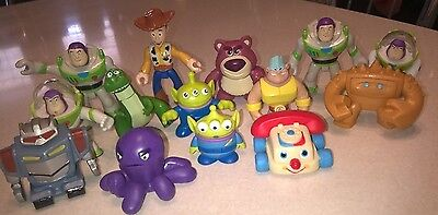 Disney Toy story lot of 14 mini pvc toys