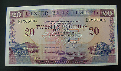 North Ireland 1990 20 Pound Note P333