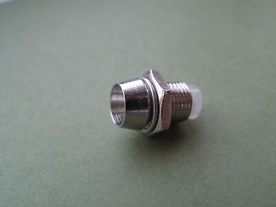 3mm / 5mm Chrome Metal LED Holder Mount Bezel Case Silver Colour various amounts