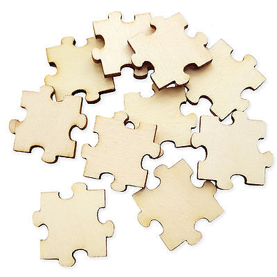 Mixed Jigsaw Puzzle Pieces 200g Craft Scrapbooking Card Making Embellishments