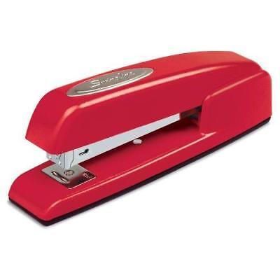 Swingline Stapler, 747, Business, Manual, 25 Sheet Capacity, Desktop, Rio Red