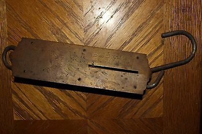 Antique Chatillons Spring Balance Scale 50 pound - A7