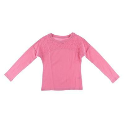 Dream Star 2692 Girls Pink French Terry Pullover Sweater Top L 14 BHFO