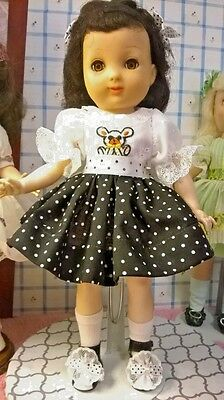 "VINTAGE 1950'S IDEAL 14"" P-90 (TONI) BETSY McCALL DOLL GUC w/NEW CLOTHES SHOES"