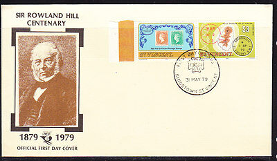 St Vincent 1979 Rowland Hill First Day Cover  Unnaddressed