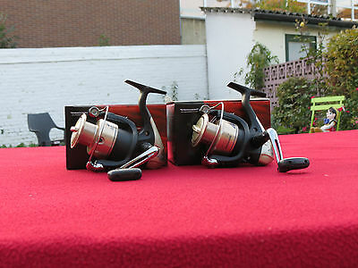 2 moulinets shimano ax 4000 fd-2 roulements