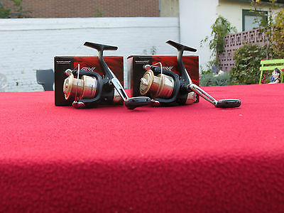 2 moulinets shimano ax 2500 fd-2 roulements