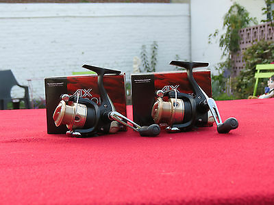 2 moulinets shimano ax 1000 fd-2 roulements