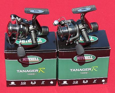 2  moulinets mitchell tanager 1000 rd