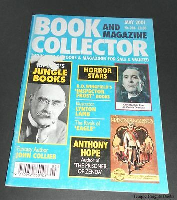 Book and Magazine Collector-May 2001-No.206-Jungle Books-Horror Stars-Hope-EtcVG